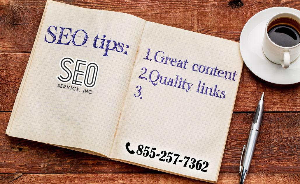 SEO Tips from SEO Service Inc