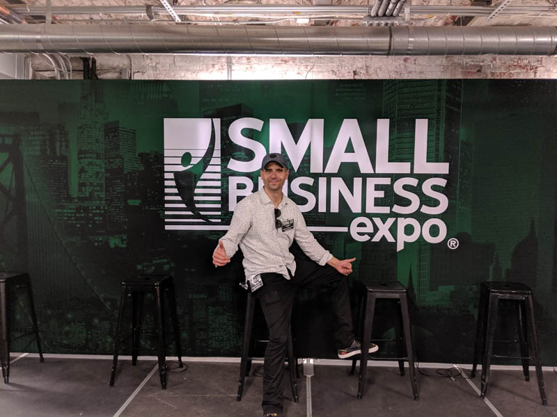 Danny Star at Small Business Expo